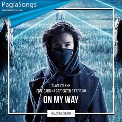 On My Way (Remix) - Sabrina Carpenter n Farruko Poster