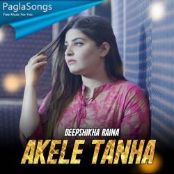 Akele Tanha (Female Cover) Poster
