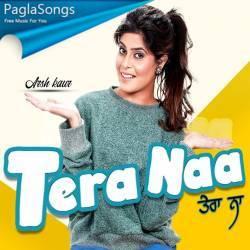 Tera Naa Arsh Kaur Whatsapp Status Poster