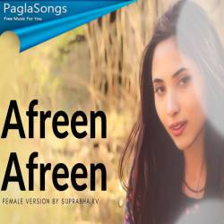 Afreen Afreen (Female Version) Poster