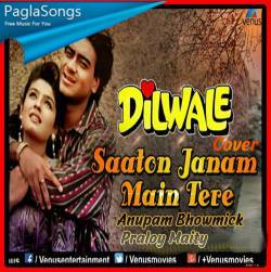 Saaton Janam Mein Tere (Cover) Poster