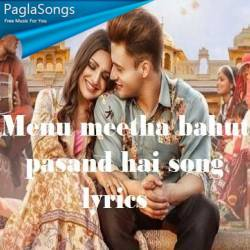 Menu Meetha Bahut Pasand Hai Poster