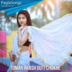 Ogo Tomar Akash Duti Chokhe Poster